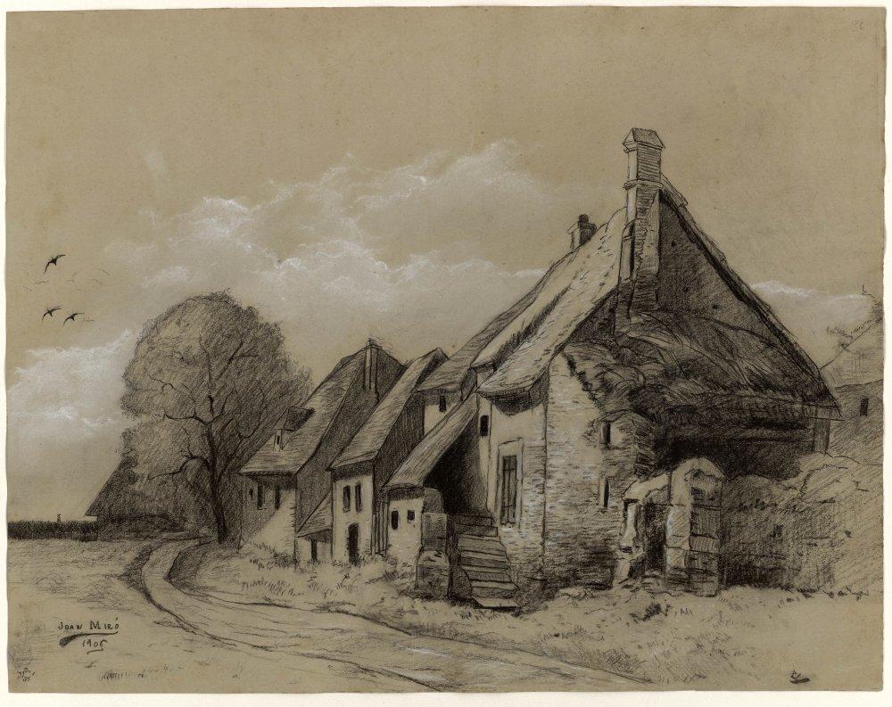 Без названия (Дома), 1906