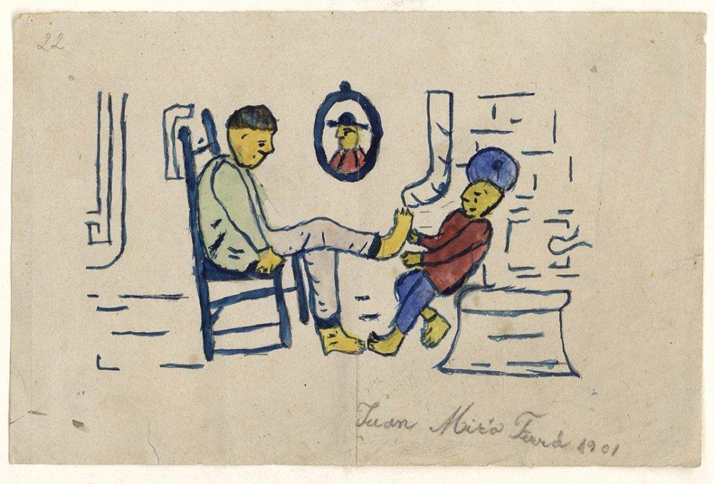 Без названия (Педикюр), 1901