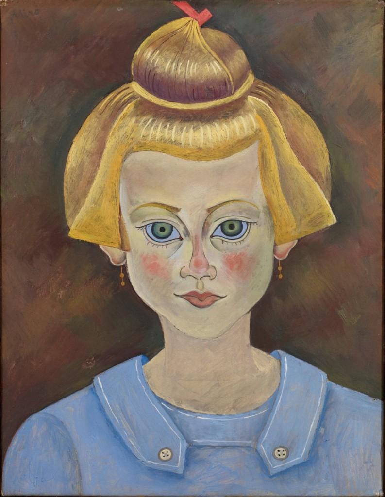Портрет молодой девушки, 1919